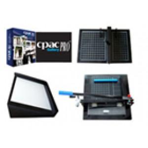 "CPAC Photo Book Album Equipment Set of 12"" Sheet Trimmer + 12"" Center Crease Apparatus + Alignment Jig & the CGP Software"