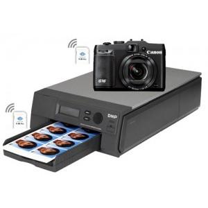 DNP ID400 Wireless Passport ID Printer with Canon G16 Camera (DISCONTINUED)