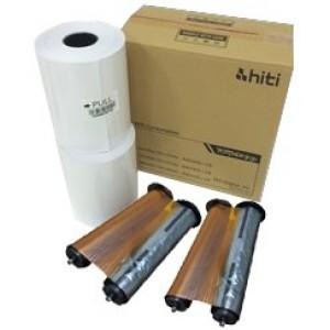 6x8 Media Print Kit for HiTi 510K, 510s and 510L Printers, HiTi Paper & Ribbon for P510 Series - 6x8 x165  2 sets (330 Prints) [87.PBL02.10XV]