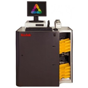 "Kodak APEX 40 System (w/ 40"" cabinet, 2-7000 printer, Workstation, Label printer"