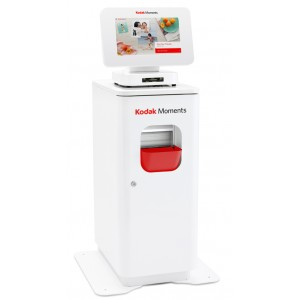 Kodak Moments M1 Order Station with 305 Print Station Cabinet-(includes M1 Order station,305 Printer, 305 Install kit, tether kit and Cabinet [105-9849]