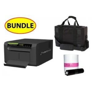 "Sinfonia PB2 Compact 6"" Printer CASE & MEDIA BUNDLE:Sinfonia PB2  Printer + One 4x6 Print Kit + Soft Carry Case"
