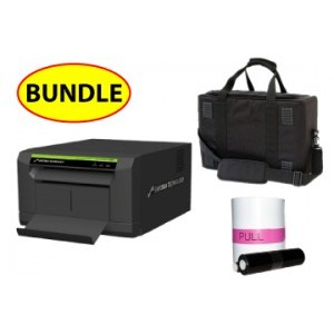 """Sinfonia CS2 Compact 6"""" Printer CASE & MEDIA BUNDLE:Sinfonia CS2  Printer + One 4x6 Print Kit + Soft Carry Case (Printer does not include 5x7 Spacer)"""