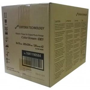 Sinfonia CE1 8X10 (120X2 sets) Print Media Kit