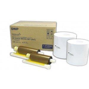 5x7 Media Print Kit for DNP DS620A Printers, DNP Paper & Ink Ribbon 5x7 x230 x 2 sets (Total 460 prints) [DS6205X7]