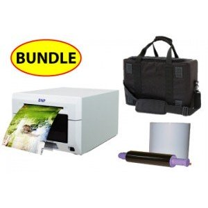 "DNP DS620A 6"" Digital Photo Printer CASE & MEDIA BUNDLE: DNP DS620A Printer including 3 years manufacturer warranty + One 4x6 Print Kit + Soft Carry Case"