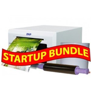 "DNP DS620A 6"" Digital Photo Printer STARTUP BUNDLE: DNP DS620A Printer including 3 years manufacturer warranty + One 4x6 Print Kit"
