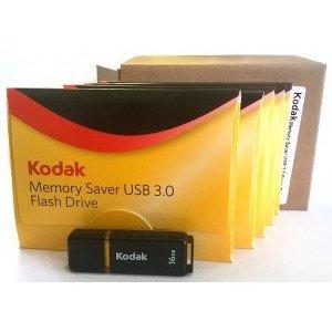 Kodak Memory Saver 16 GB USB 3.0 Flash Drive 5 Pack