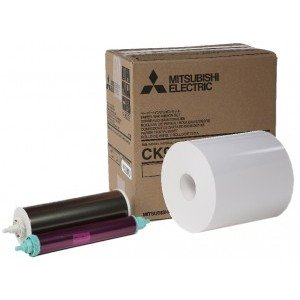 6x9 Media Print Kits for Mitsubishi 9000, 9500, 9550, 9800 and 9810 Printers, Mitsubishi Paper & Ink Ribbon 6x9 x270 Prints [CK-9069]