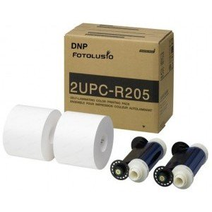 "DNP / Sony UP-DR200 and UP-CR20L 5x7"" Print Kit (2UPCR205)"