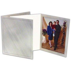 Folders 5X7 (100 per case) Marble Gray