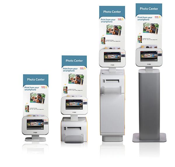 Kodak Print Place Tablet Kiosk